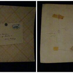 Cartoncino lettera – Carlo Severa