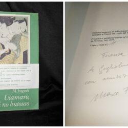 Marco Fagioli – Utamaro koi no hutosao – Tipografia Nazionale 1977 autografato