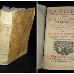 Vita del venerabile Padre Giovanni Leonardi scritta da Carlantonio Erra Milanese – Roma 1763
