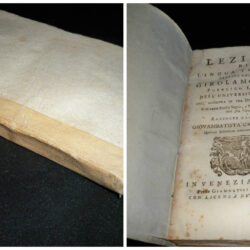 Lezioni di lingua toscana Girolamo Gigli Venezia 1761