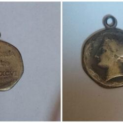 Medaglia Regia Nave Sicilia Luglio 1896  (Mistura ag)