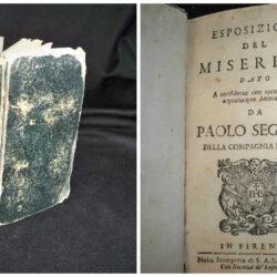 Esposizione del Miserere – Paolo Segneri – Firenze 1692