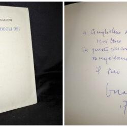 Bruno Nardini – Il dono degli dei – Mondadori 1970 autografato