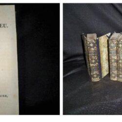 Oeuvres completes de Montesquieu vol 1-8 Paris 1820-22