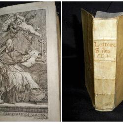 Lettere spirituali di S. Francesco di Sales Padova 1721 – tre libri in uno