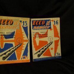 Ecco il nemico L'aviazione per tutti – Collana di Divulgazione Aeronautica N° 15 N°16 Roma 1942