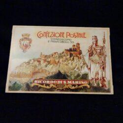 Confezione Postale Ricordo di S. Marino – Stereoscopio e francobolli 3D – completo