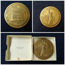 Medallic Art Co. New York – Centennial of the Statue of liberty