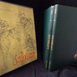 Petrinio Arbitro – Satiricon – Canesi 1963 2 vol.