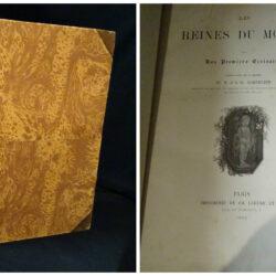 Les reines du monde – Paris Imprimerie de Ch. Lahure et C 1862