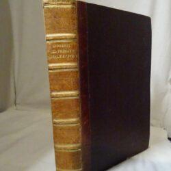 Del primato morale e civile degli italiani per Vincenzo Gioberti – Volume Unico-Milano 1848 Giuseppe reina Libraio editore