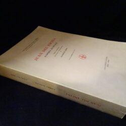 Juan del Encina L'opera musicale – Casa editrice D'Anna Firenze 1947