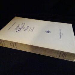 Charles Baudelaire Petits Poemes en prose – Edition critique par Robert Kopp – Libraire Jose Corti 1969