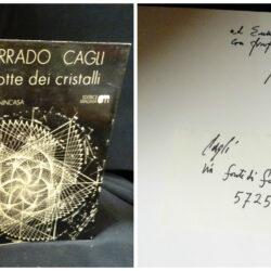 Corrado Cagli La notte dei cristalli – Editrice Magma 1975 Firma autore
