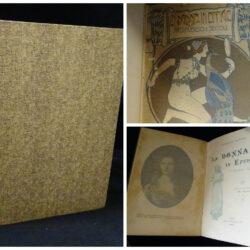 Armand Daydot La donna in effigie attraverso I secoli – traduzione dal francese di Ugo Fleres – Roux Frassati e C. Torino 1900