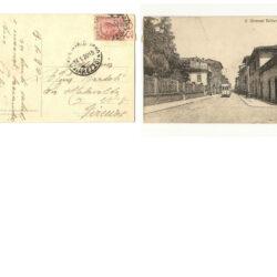 Cartolina San Giovanni Valdarno – Porta Aretina