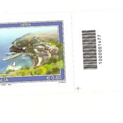 Italia Repubblica 2012 Propaganda Turistica 39° emissione Ustica
