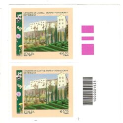 Italia Repubblica 2013 Parchi, giardini e orti botanici d'Italia, 3° emissione Castel Trauttmansdorff