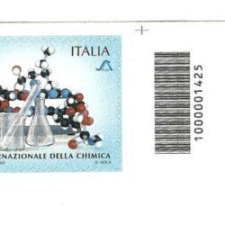 Italia Repubblica 2011 Anno Internazionale della Chimica
