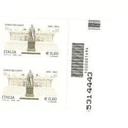 Italia Repubblica 2012 Le Istituzioni 37° emissione Corte dei Conti