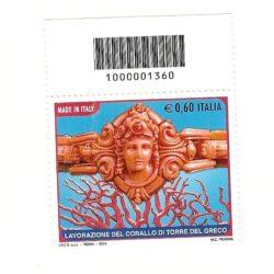 Italia Repubblica 2010 il Made in Italy  – 11° Emissione il corallo di Torre del Greco
