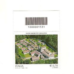 Italia Repubblica 2013 Patrimonio Artistico e Culturale italiana 99° Emissione Abbazia di Camaldoli a Poppi