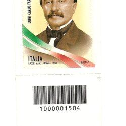 Italia Repubblica 2012 2° centenario della nascita di Luigi Carlo Farini