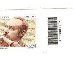 Italia Repubblica 2012 25° Anniversario della morte di Primo Levi