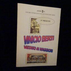 Libro Vinicio Berti Vietato ai minori – Centro Internazionale Antinoo per l'arte 1998
