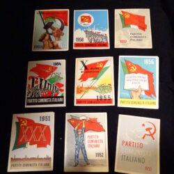 Lotto tessere Partito Comunista Italiano Anni 50 (1951-1959)