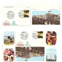 F.D.C Busta primo giorno Carnevale di Viareggio 1973