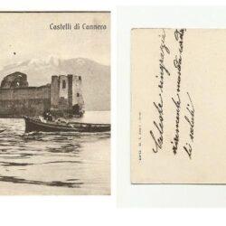 Cartolina Castelli di Cannera, Timbro Natante