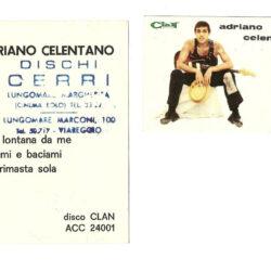 Cartolina Clan Celentano