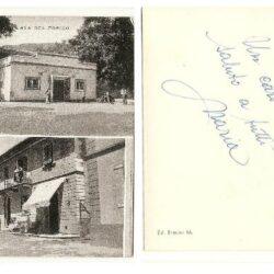 Cartolina Saluti da Lucolena (Firenze)