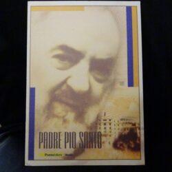 Italia Repubblica 2002 Folder Padre Pio