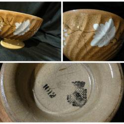 Opaque de Sarreguemines Scodella in ceramica – grande