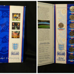 The Official England Squad Medal Collection  1996