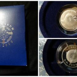 Medaglia Giubileo 2000 – Iubilaeum A.D. 2000 – Gesù Cristo