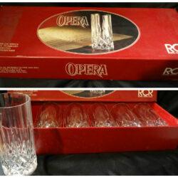 Set bicchieri RCR OPERA  Royal Crystal Rock – Cristallo