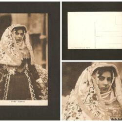 Cartolina Sardegna, costume Osilo –non viaggiata