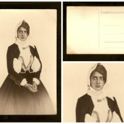 Cartolina costume sardo – donna sarda – non viaggiata