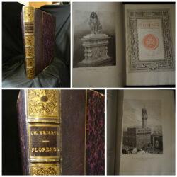 Charles Yriarte – Florence L'Histoire – Les médicis – Les humanistes – Les lettres – Les arts –Paris J.Rothschild Editeur 1881