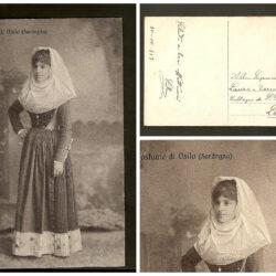 Cartolina Sardegna, costume Osilo
