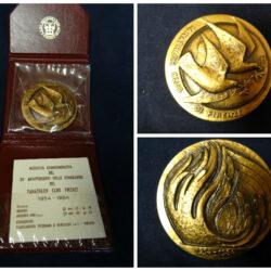 Medaglia commemorativa  Panathlon club 1984