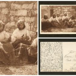 Cartolina Sardegna, la preparazione delle Talee – viaggiata