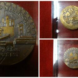 Medaglia Rotary Club 25° anniversario della fondazione 1993