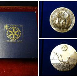 Medaglia Rotary Club Firenze – 20 anni dalla nascita 1988