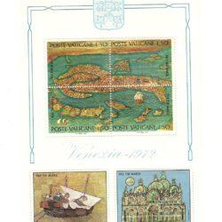 Città del Vaticano 1972 Foglietto  Venezia – MNH