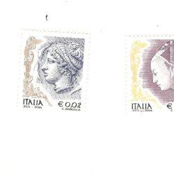 Italia Repubblica 2004 La Donna nell'arte 5° emissione – MNH