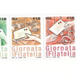 Italia Repubblica 2014 Giornata della filatelia – MNH